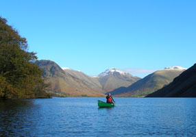 Wastwater canadian canoeing